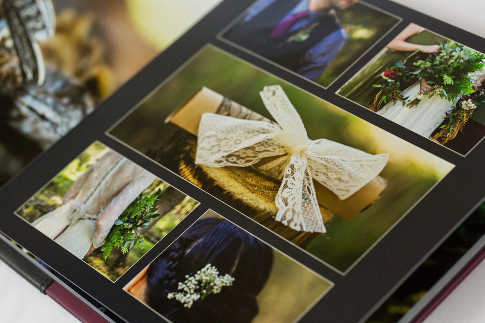 detail photo of album page